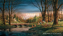 Terry Redlin Limited Edition Print on Paper Spring Fishing AP