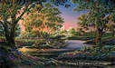 Terry Redlin Limited Edition Giclee on Canvas Spring Morning