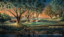 Terry Redlin Limited Edition Print on Paper Spring on the Greens
