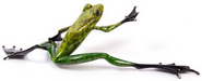 Frogman - Tim Cotterill Sculpture Steppin' Out