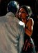 Fabian Perez Limited Edition Giclee on Canvas The Proposal V