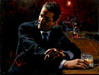 Fabian Perez Limited Edition Giclee on Canvas Proud to be a Man II