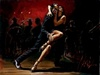 perez tango Limited Edition Giclee on Canvas Tango In Red