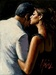 Fabian Perez Limited Edition Giclee on Canvas The Proposal IX