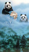 Schim Schimmel Limited Edition Giclee on Paper The Final Few-Panda Bears