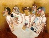 Todd White Limited Edition Giclee on Canvas Those Mad Mad Chefs