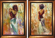 Henry Asencio Limited Edition Giclee on Canvas Transition and Endeavor