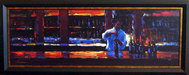 Michael Flohr Artist Limited Edition Giclee on Canvas Uncorked