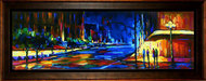 Michael Flohr Artist Limited Edition Giclee on Canvas Uptown