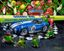 Godard Martini Art Limited Edition Giclee on Canvas We Olive A Shelby (CS)