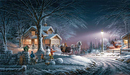 Terry Redlin Limited Edition Print on Paper Winter Wonderland AP
