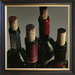Arvid Wine Art Limited Edition Giclee on Canvas With Pride (AP) Hand Enhanced